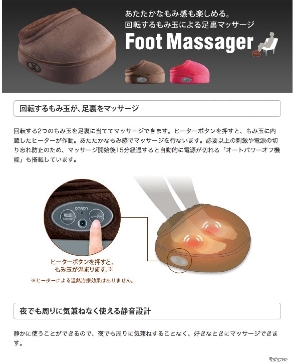 Massage chân nội địa nhật -Hàng trưng bày mới về -Model cao cấp-Giá rẻ - 31