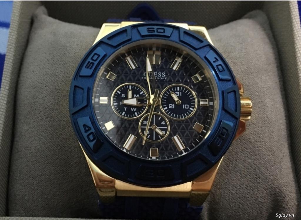 Cần bán 2 mẫu đồng hồ Nam hiệu Micheal Kors và Guess - 2