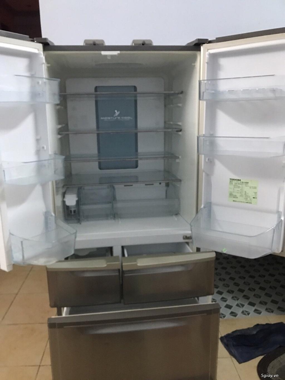 Tủ lạnh 6 cánh nội địa nhật bản - 4