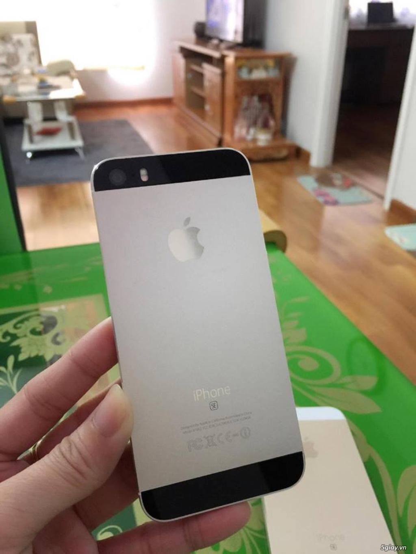 iPhone 5S-32G/Quốc Tế-Lên vỏ iP5SE Hồng/Vàng.Mới 99,9%.Vân tay nhạy!! - 5