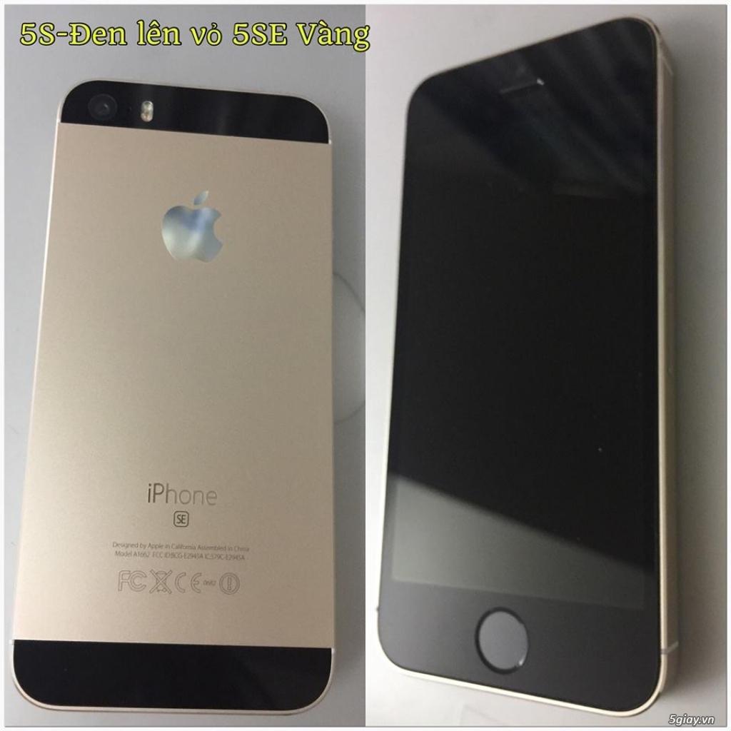 iPhone 5S-32G/Quốc Tế-Lên vỏ iP5SE Hồng/Vàng.Mới 99,9%.Vân tay nhạy!! - 9