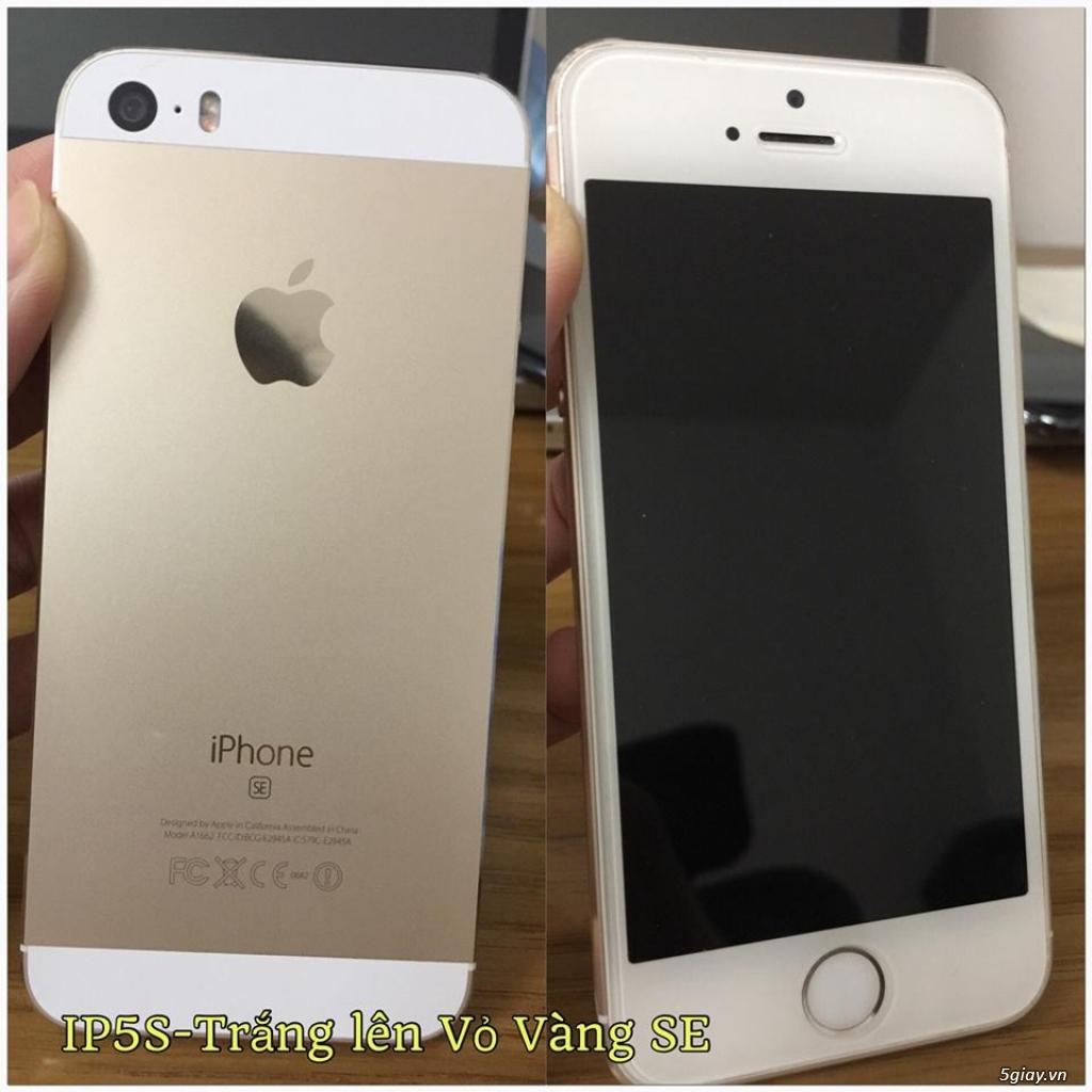 iPhone 5S-32G/Quốc Tế-Lên vỏ iP5SE Hồng/Vàng.Mới 99,9%.Vân tay nhạy!! - 10