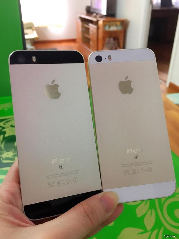 iPhone 5S-32G/Quốc Tế-Lên vỏ iP5SE Hồng/Vàng.Mới 99,9%.Vân tay nhạy!! - 8