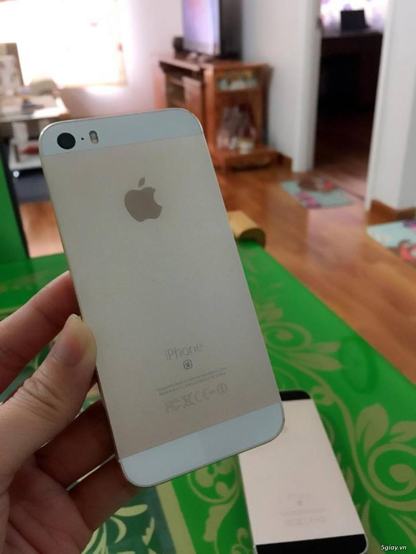 iPhone 5S-32G/Quốc Tế-Lên vỏ iP5SE Hồng/Vàng.Mới 99,9%.Vân tay nhạy!! - 3