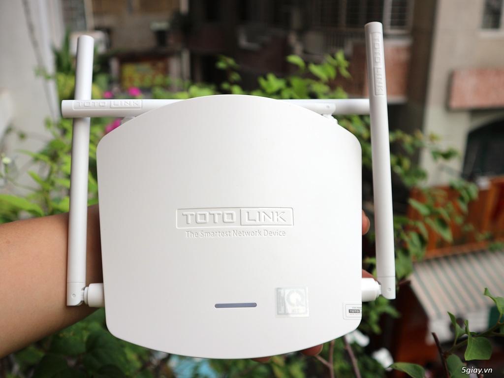 """Trên tay Totolink N600R: thiết bị WiFi chuẩn N tốc độ """"tối đa"""" 600mbps - 188400"""