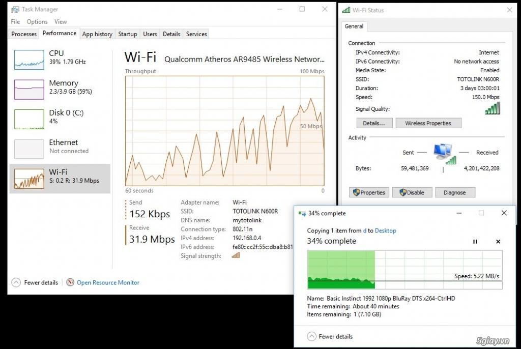"""Trên tay Totolink N600R: thiết bị WiFi chuẩn N tốc độ """"tối đa"""" 600mbps - 188407"""