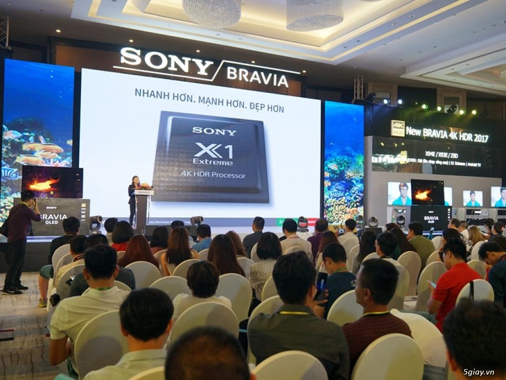 Loạt tivi Sony OLED 4K HDR năm 2017 - 188377