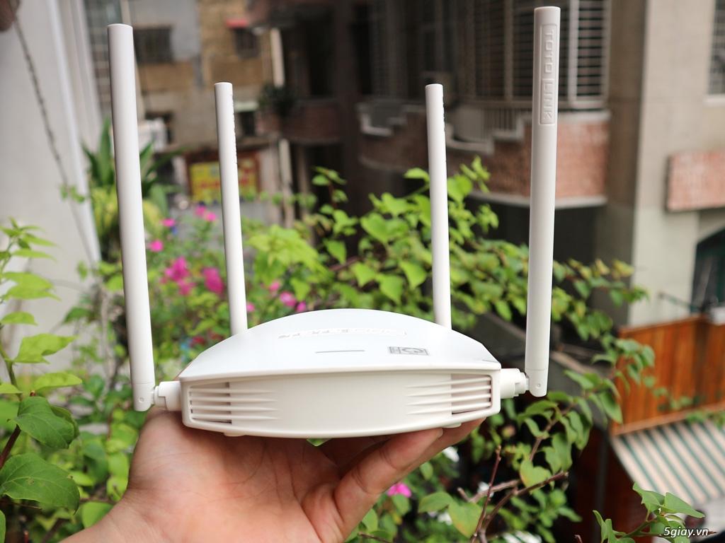 """Trên tay Totolink N600R: thiết bị WiFi chuẩn N tốc độ """"tối đa"""" 600mbps - 188405"""
