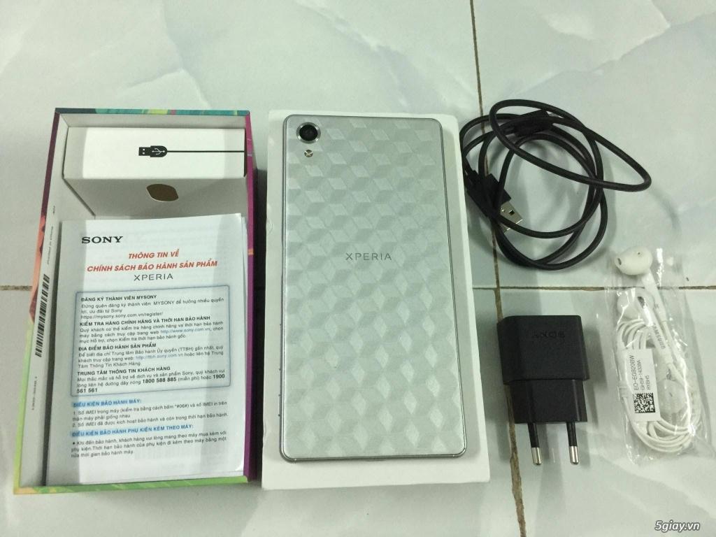 Sony Xperia X White chính hãng BH Công Ty 13/10/2017 đẹp hoàn hảo - 1