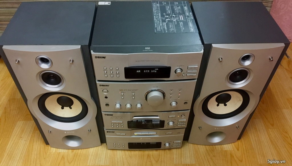 Dàn SONY MD77 made in JaPan 4 thớt rời cao cấp - 1