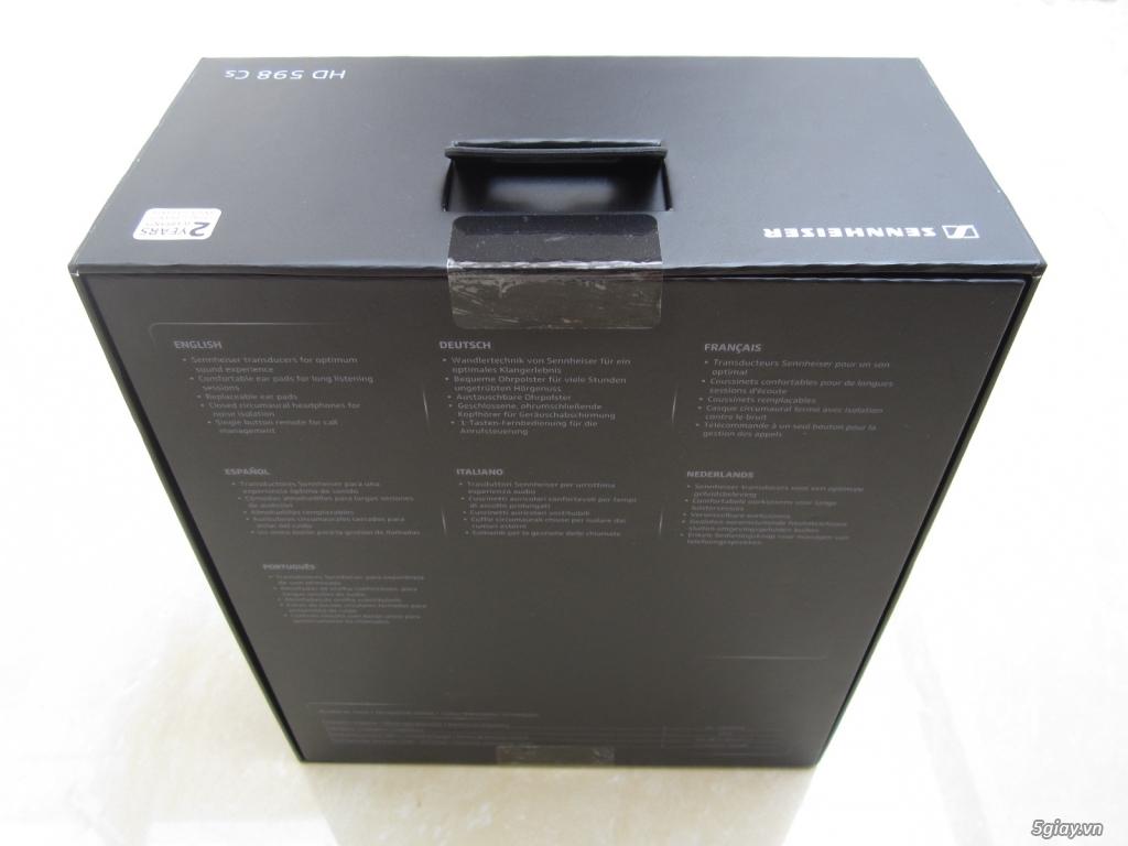 Tai Nghe Sennheiser HD 598 CS, Fullbox, Nguyên Seal, 100% !!! - 3