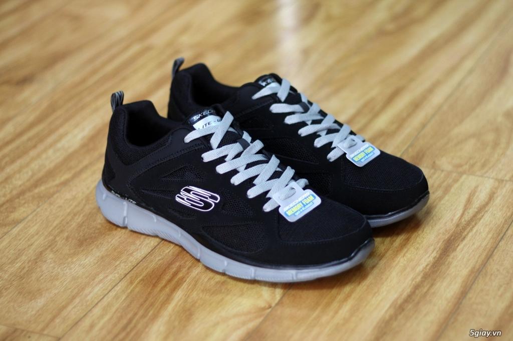 Giày thể thao chạy bộ,đi bộ tập gym Sketchers Memory Foam - 4