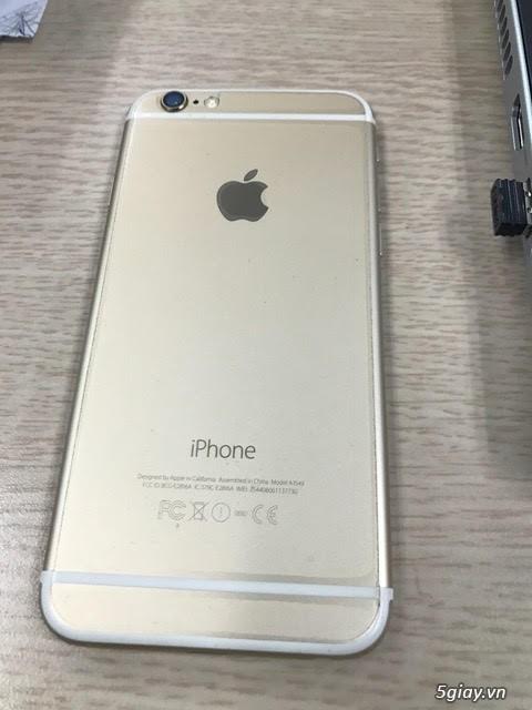 Bán Iphone 6 gold 128Gb bản quốc tế - 1