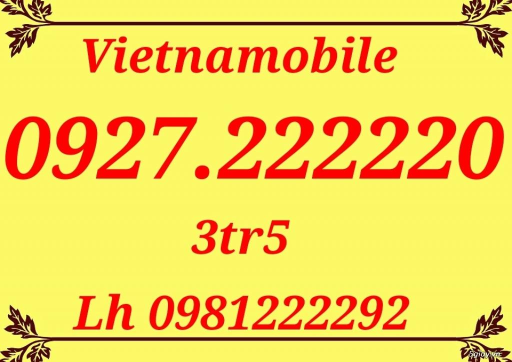 Ngũ giữa 22222 chỉ 3tr5 là 0927.222220 cho ace làm hotline vip rẻ