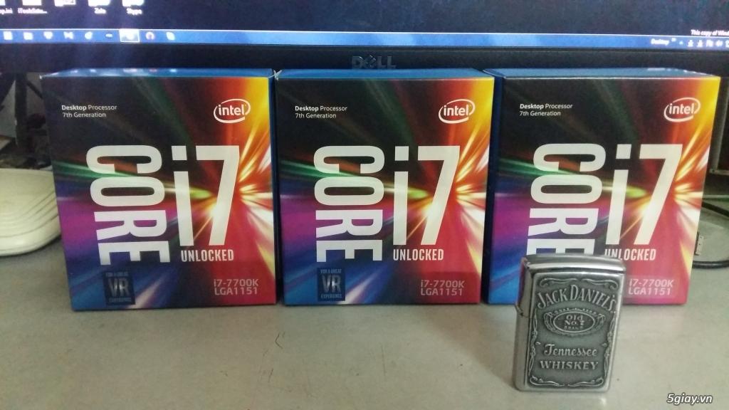 Bán CPU Intel 7700K - Full box nguyên seal