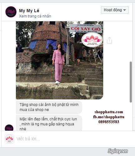 Quần áo phật tử - Áo Lam đi Chùa