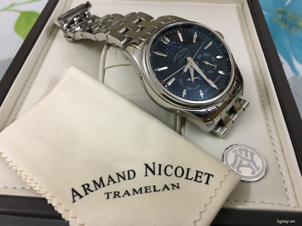 Armand Nicolet Complete Calendar - Full box like new