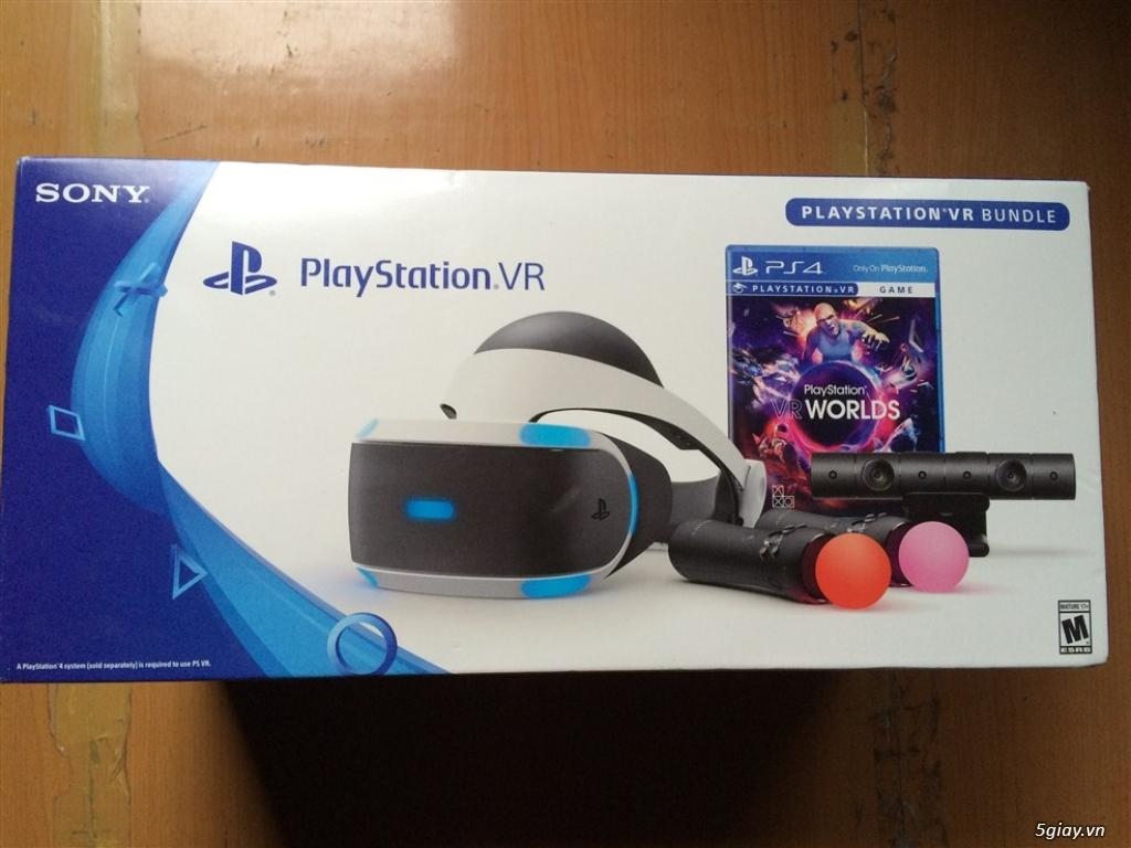 Playstation 4 pro và playstation VR Bundle new 100% fullbox ! - TP