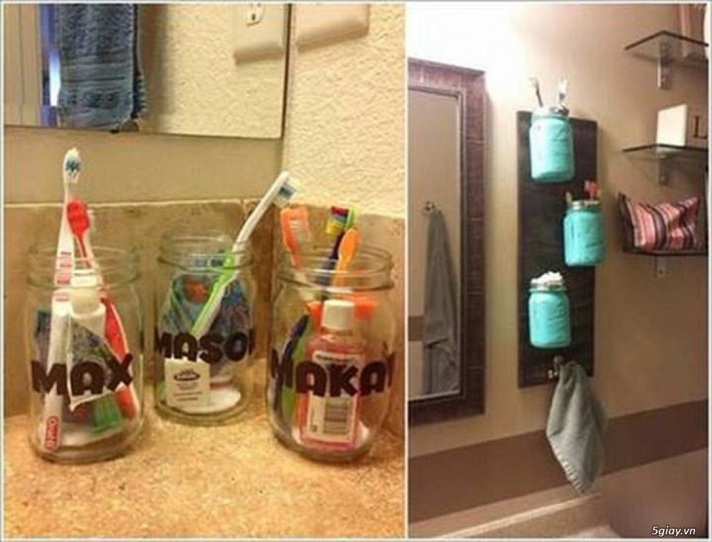 10 cách tái chế hoàn hảo để cất giữ bàn chải đánh răng - 2