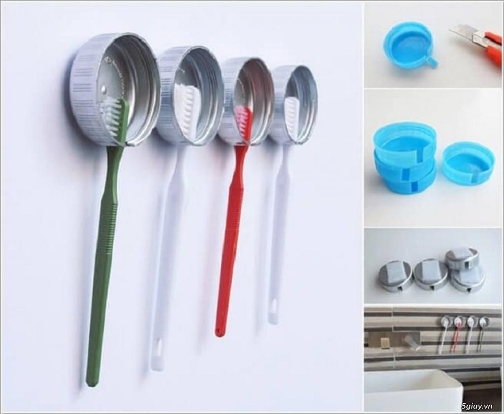 10 cách tái chế hoàn hảo để cất giữ bàn chải đánh răng - 3