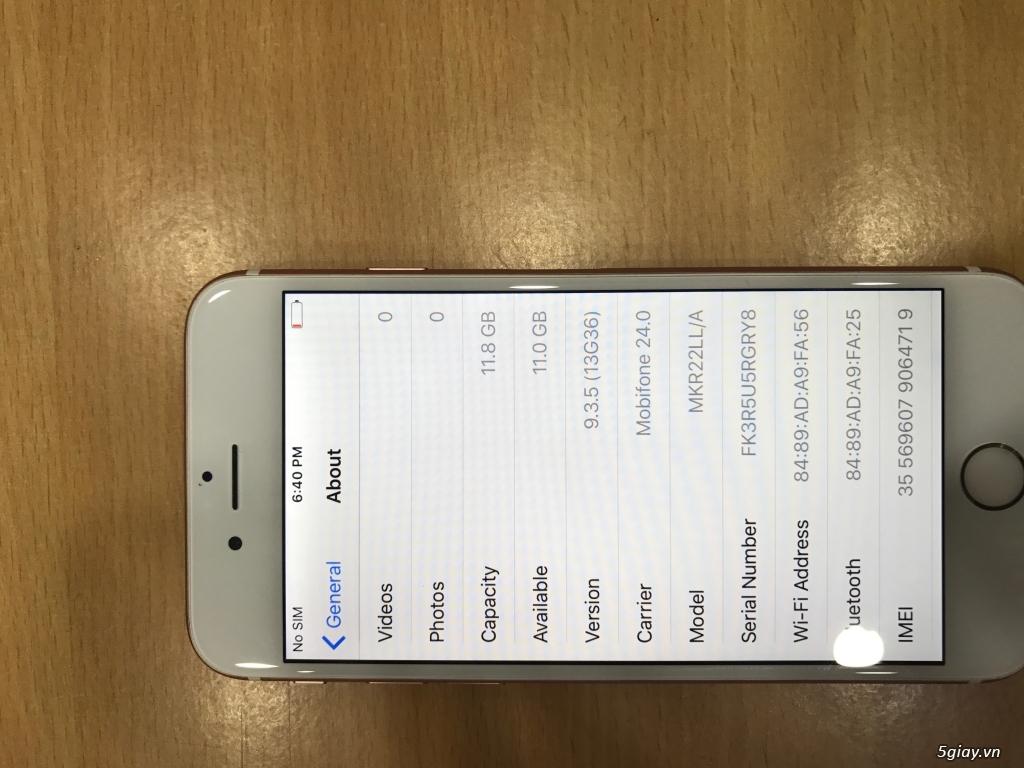 List hàng Iphone 5, 5s, 6, 6p 16gb-64gb-128gb đủ màu, zin 100% đẹp 99% - 9