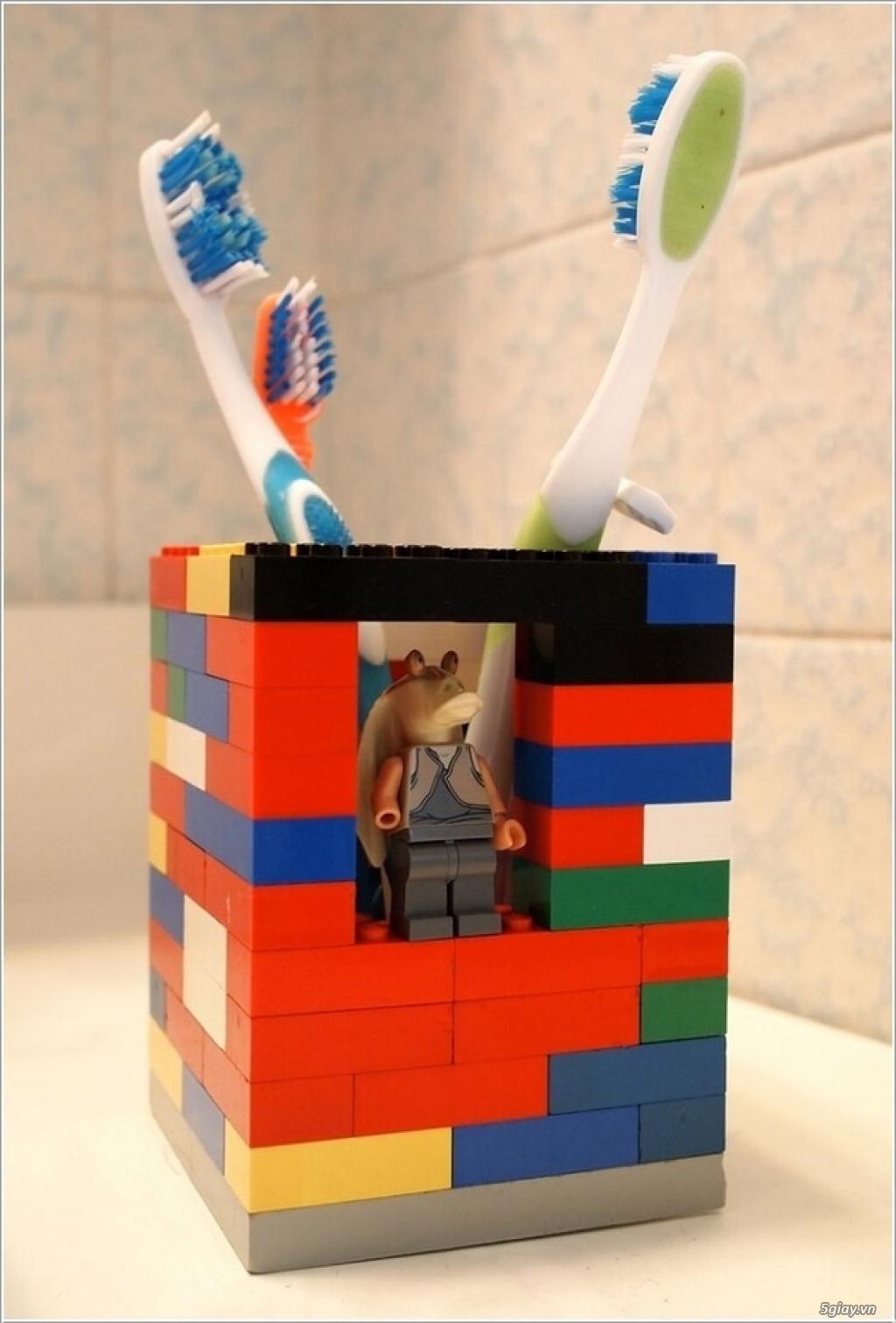 10 cách tái chế hoàn hảo để cất giữ bàn chải đánh răng - 7