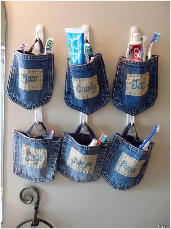 10 cách tái chế hoàn hảo để cất giữ bàn chải đánh răng - 8