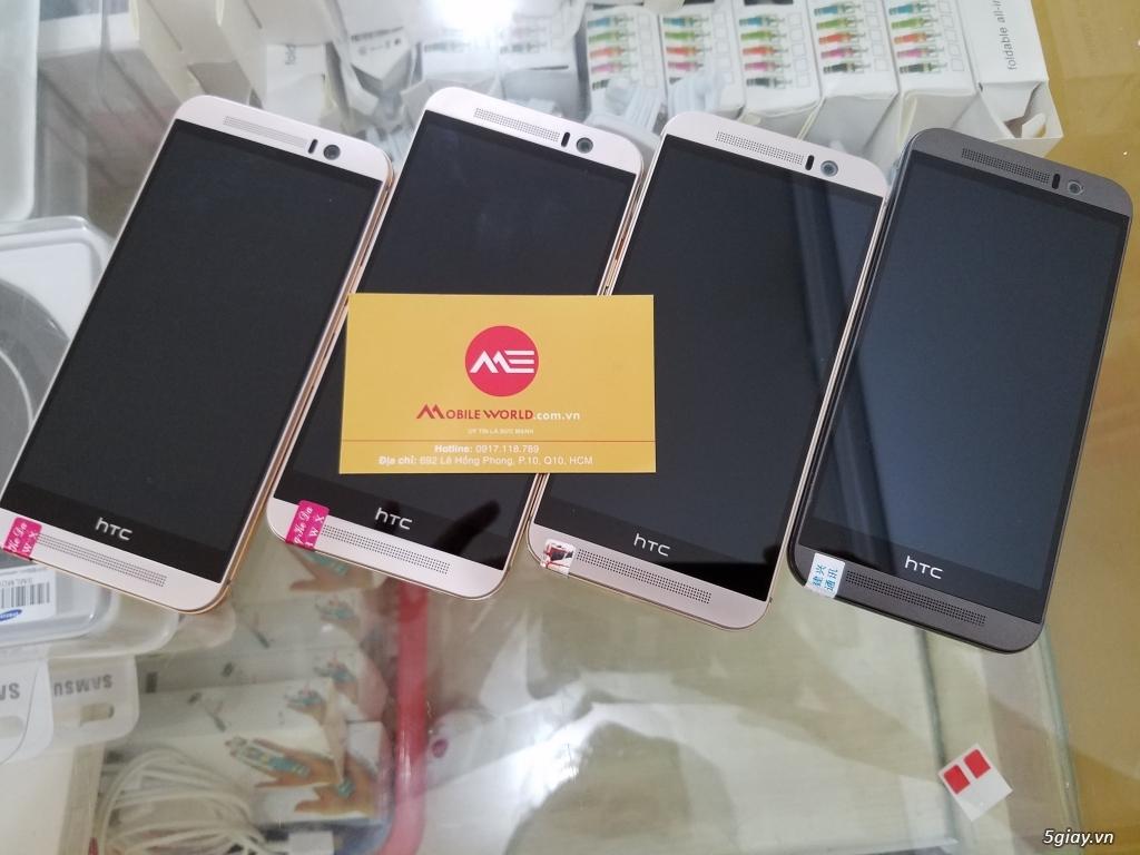 TRẢ GÓP / HTC one M9 Likenew 99% chỉ 2tr490 - Bảo hành: Nguồn màn hình cảm ứng