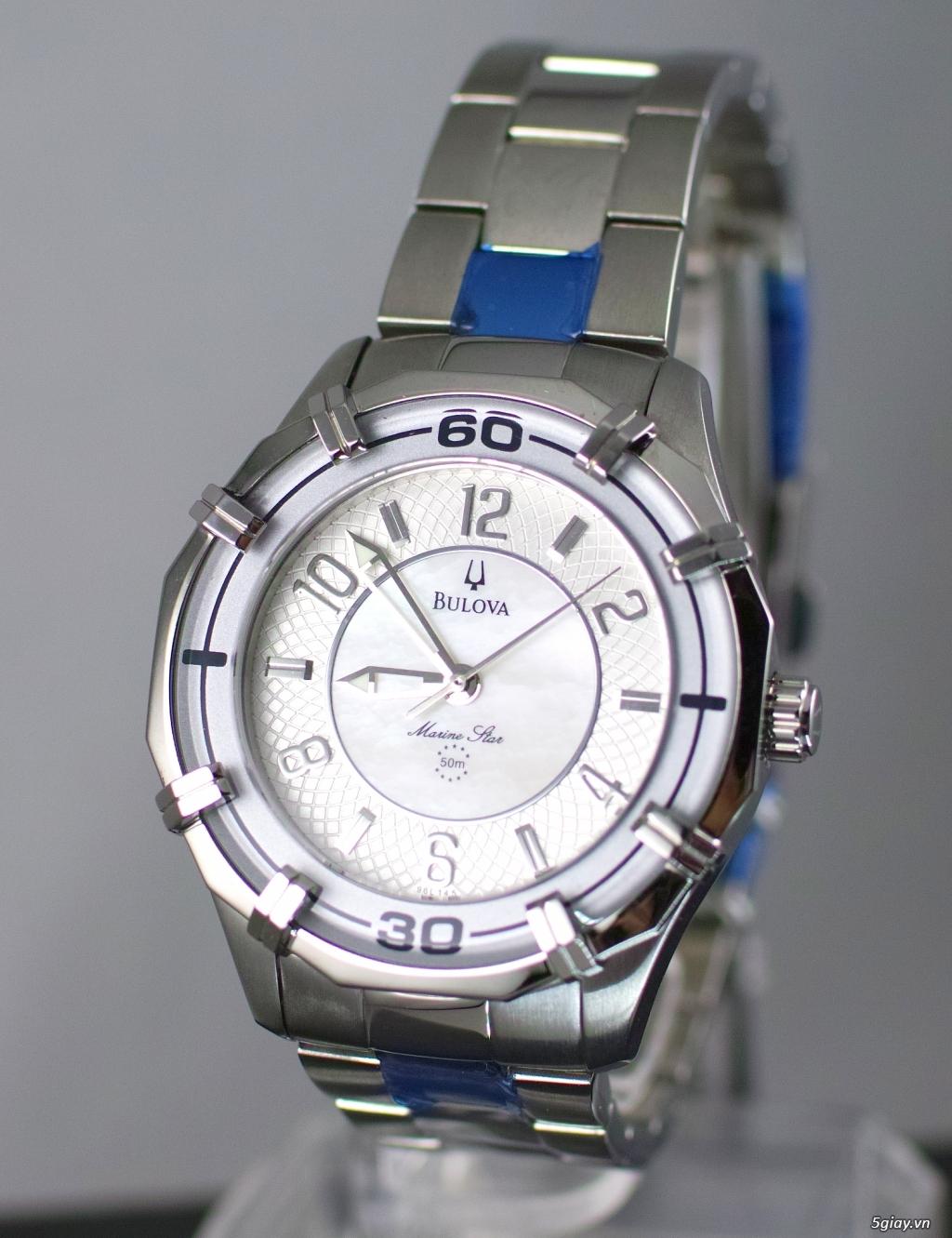 Đồng hồ nữ xách tay chính hãng Seiko,Bulova,Hamilton,MontBlanc,MK,..