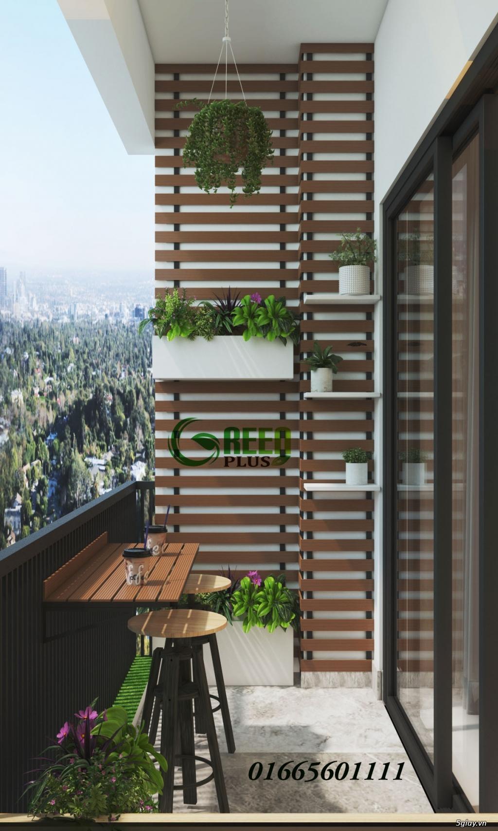 Giàn hoa ban công, thiết kế trang trí ban công chung cư - 2