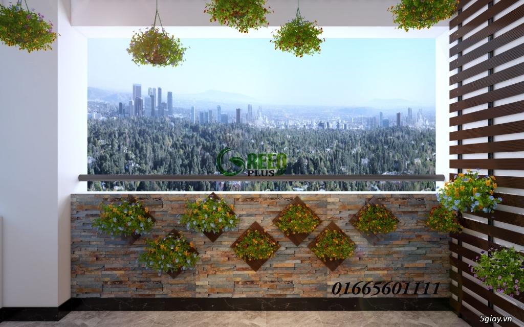 Giàn hoa ban công, thiết kế trang trí ban công chung cư - 5
