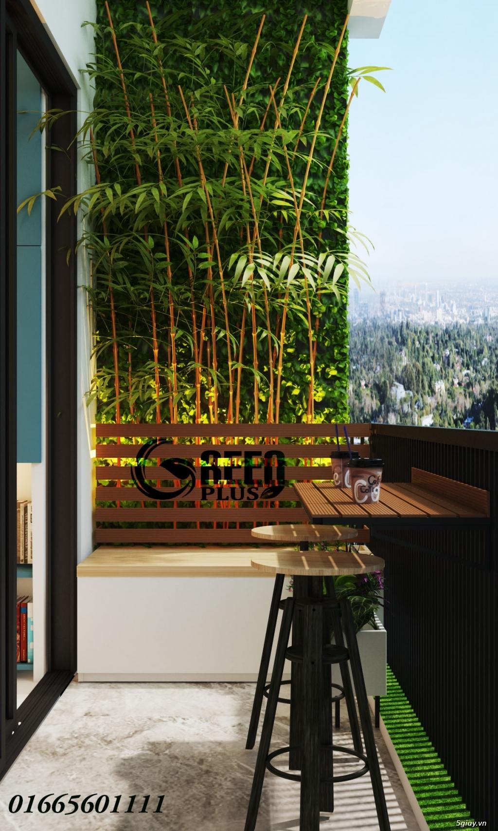 Giàn hoa ban công, thiết kế trang trí ban công chung cư - 3