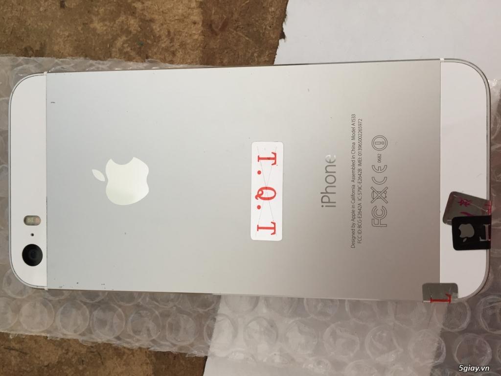 Cần ra đi 1 em ip 5s màu trắng qt máy đẹp 99% - 1