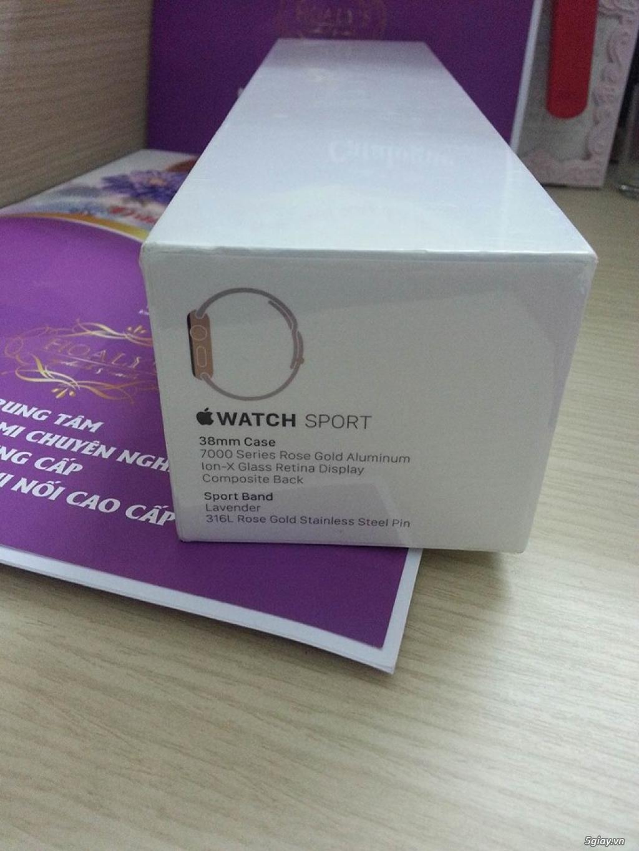 Apple Watch Sport 38mm Gold Aluminum