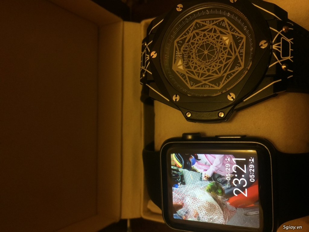 Apple Watch Serri 1 Aluminum composite back - 3