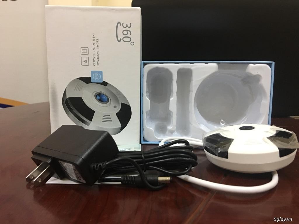 Camera IP Giám Sát 360 3D Có Đàm Thoại - 2