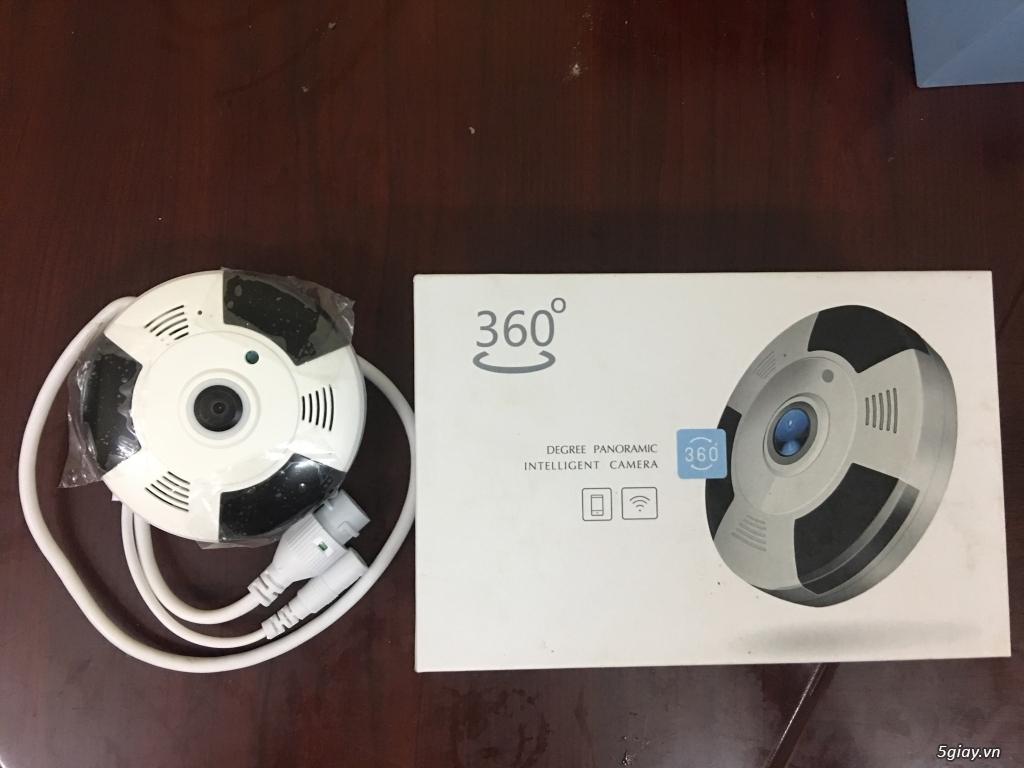 Camera IP Giám Sát 360 3D Có Đàm Thoại - 3
