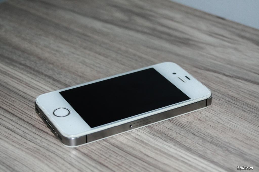 Iphone 4S Trắng Q.tế mới 98% - 2