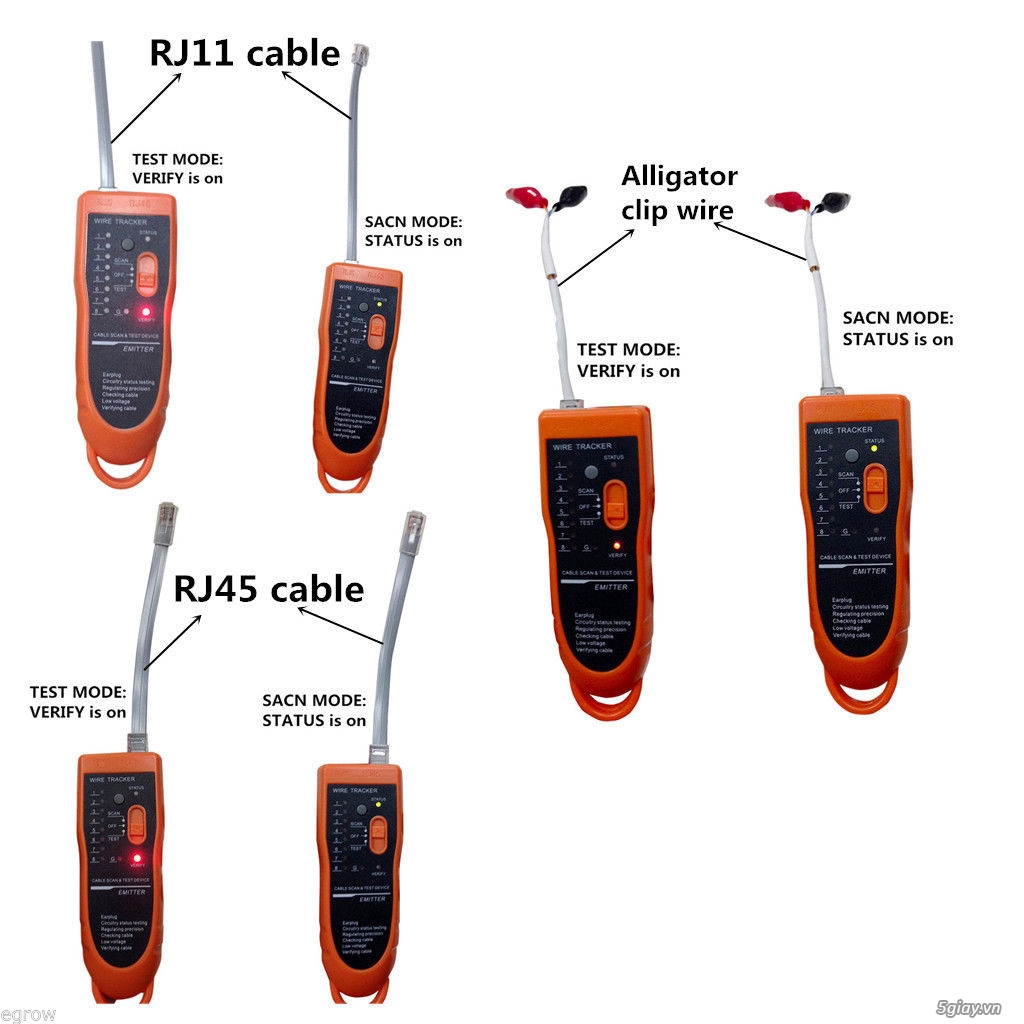 Bộ Test cáp mạng cáp thoại