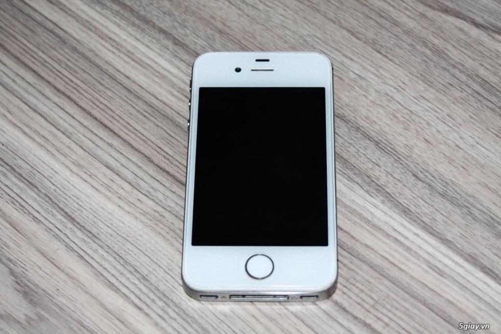 Iphone 4S Trắng Q.tế mới 98%