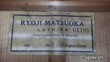 Matsouka guitar  No 30, Matsouka No 100 và Matsouka No 121 Nhật - 13