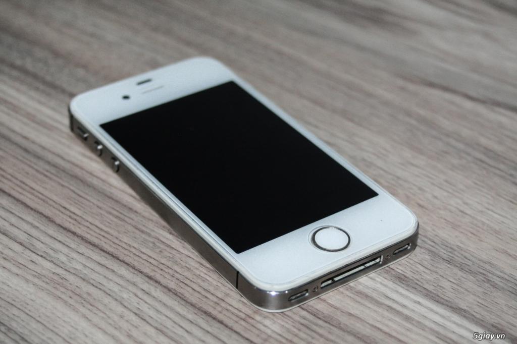 Iphone 4S Trắng Q.tế mới 98% - 1