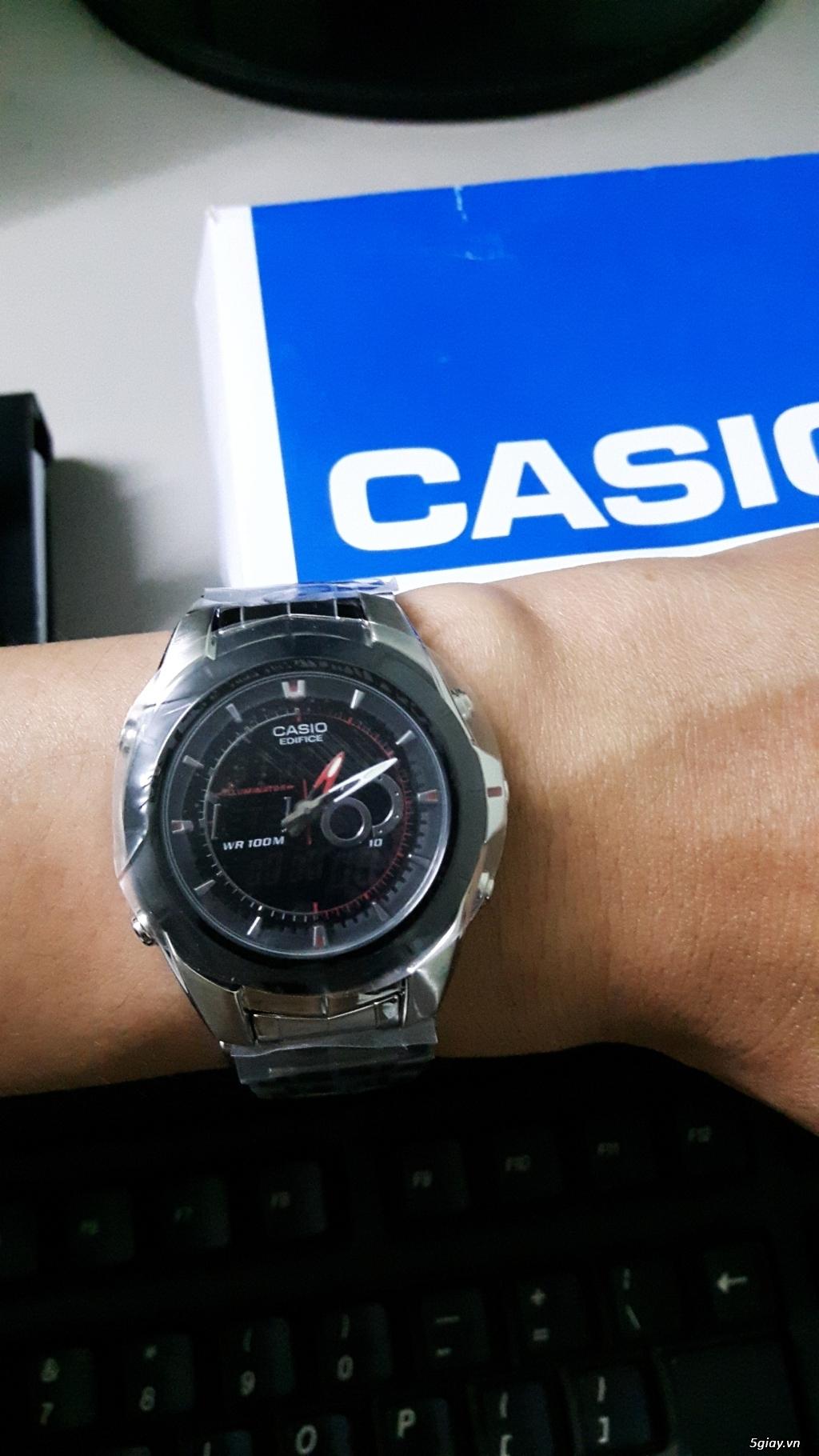 Cần bán đồng hồ Casio EFA119BK-1AV Hàng Mỹ - 2
