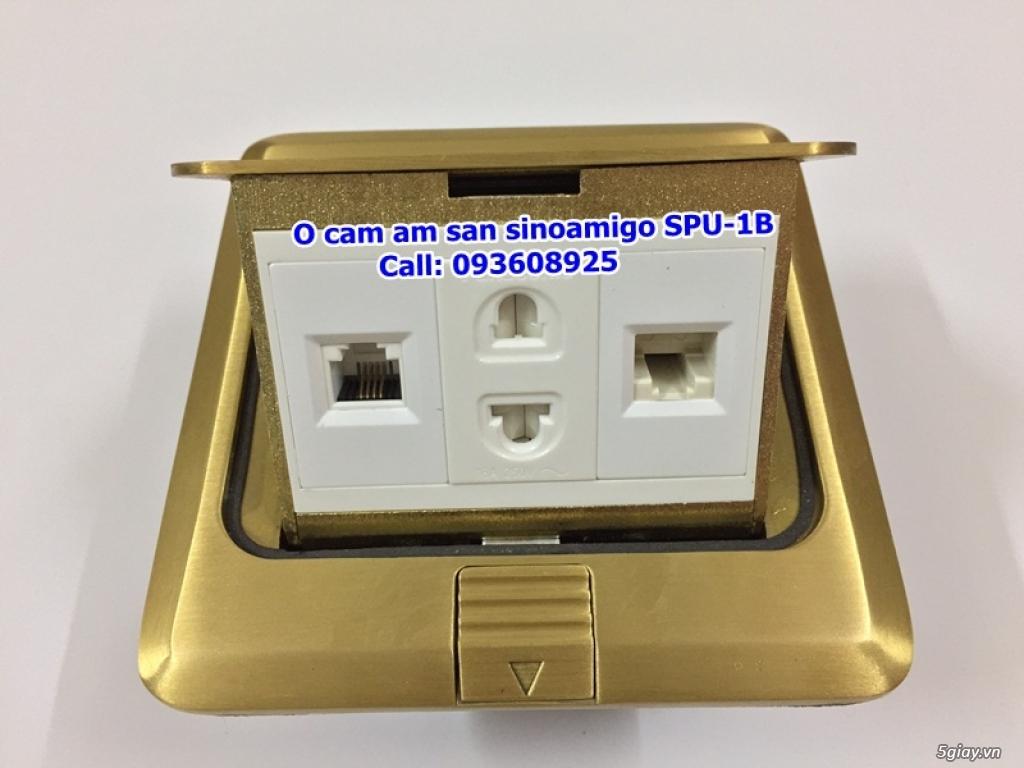 Ổ cắm điện âm sàn SINOAMIGO chất liệu đồng, ổ cắm âm sàn SIMENZI, ổ âm sàn VGA/ HDMI/ USB giá tốt