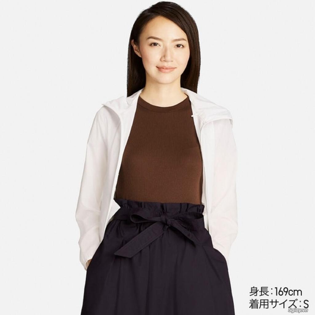 Áo chống nắng Uniqlo xuất Nhật siêu mỏng nhẹ tiện lợi - 14