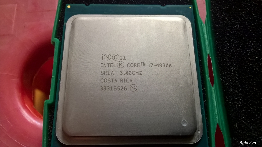 [HCM]Intel Core i7-4930K 3.4GHz, 3.9GHz, 6C-12T LGA 2011 (used) - 2