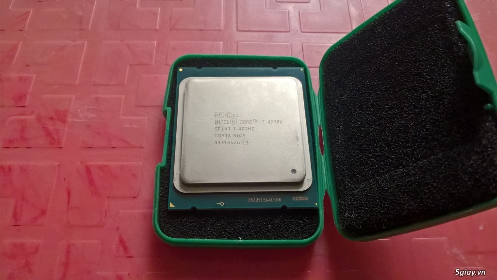 [HCM]Intel Core i7-4930K 3.4GHz, 3.9GHz, 6C-12T LGA 2011 (used)