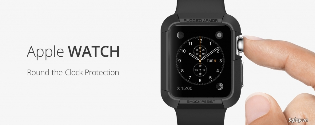 Apple Watch 42mm ( Black) dây Sport Band - 6