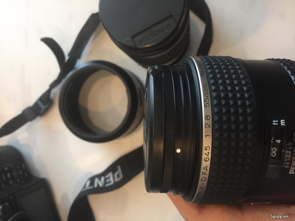Pentax 645z 98% và Lens 55mm và 150mm mới 99% - 2