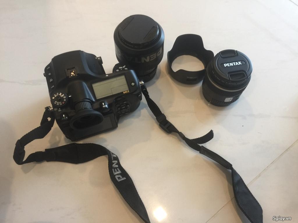 Pentax 645z 98% và Lens 55mm và 150mm mới 99% - 1